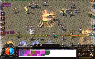 热血传奇sf游戏里面玛法大陆的武器有哪些?