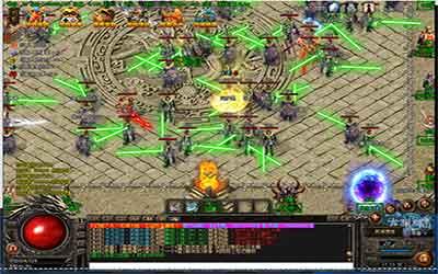 玩家在80决战合击传奇里如何摆地摊?