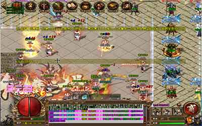 玩家在火龙中变传奇中如何得到高级武器装备